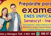 Cursos para rendir examen enes unificado
