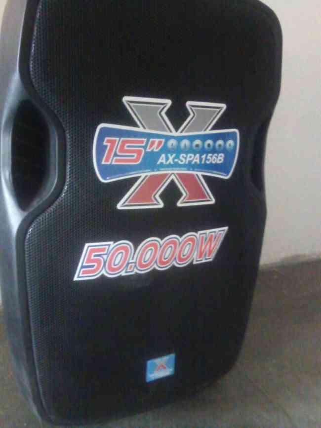 Parlante amplificado 50.000 Watts American Xtreme®+usb+bluetooth+radio