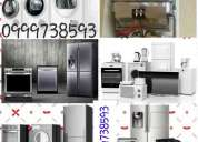 Reparación de linea blanca 0999240143 calefones lavadoras secadoras refrigeradoras hornos tumbaco