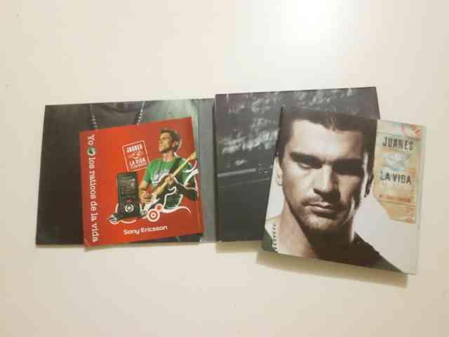 vendo cd original de juanes la vida es un ratico