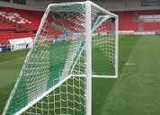 Redes de futbol en todas las medidas