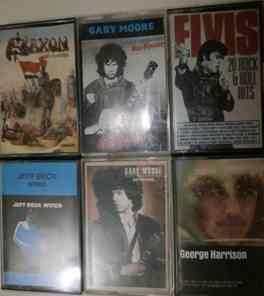 vendo cassettes originales