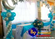 Hermosas decoraciones para baby shower