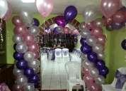 Ofertamos decoraciones con globos