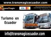Transporte turístico en quito - ecuador transmagic
