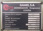 Se vende prensa de fricción, prensa de tornillo procedencia española