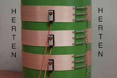 Resistencias electricas flexibles para Calentamiento de Bidones de 200 Litros