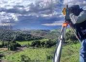 Levantamientos topográficos georeferenciados-estudio de suelos