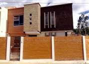 Casa por estrenar sector via misicata baños cdla etapa a cinco minutos del centro de la ciudad de d