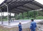 Construccion estructura metalica tanques piping