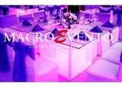 alquiler de mesas y sillas para bodas en guayaquil