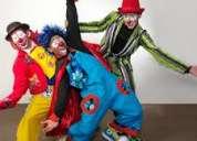 ..animaciones de fiestas infantiles..cumpleaños show payasos.. mimo mago..