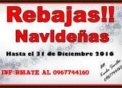 Rebajas de navidad hasta el 31 de diciembre!!
