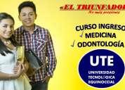 Curso para el ingreso a medicina y odontología ute