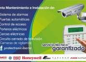 Alarmas, cÁmaras, cercas, porteros, etc. instalacion, venta y mantenimiento. protectronic 2603274