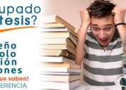 Caap asesoría profesional en tesis, capacitación, proyectos, ayuda personalizada.
