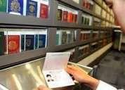 Producimos los pasaportes registrados y falso de la novedad real, las licencias de conductores,