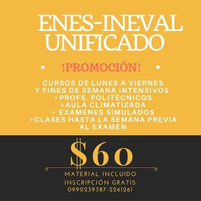 Curso para Examen Senescyt Ineval 0990239387 Profs. Politécnicos 2261261