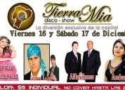 Disco-show tierra mia inf: 0987842149 n09