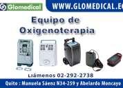 Venta de equipos para oxigenoterapia en  cuenca