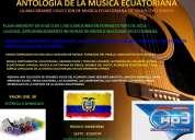 Flash memory de 8gb con la antologia de la musica ecuatoriana
