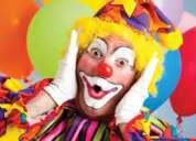 Payasos payasas fiestas infantiles, show mago mimo hora loca $20 inflables saltarines