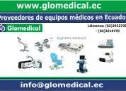 Proveedores de equipos médicos en ecuador