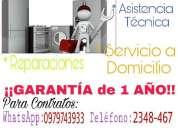 Técnico en reparaciones de calefones quito 0979743933