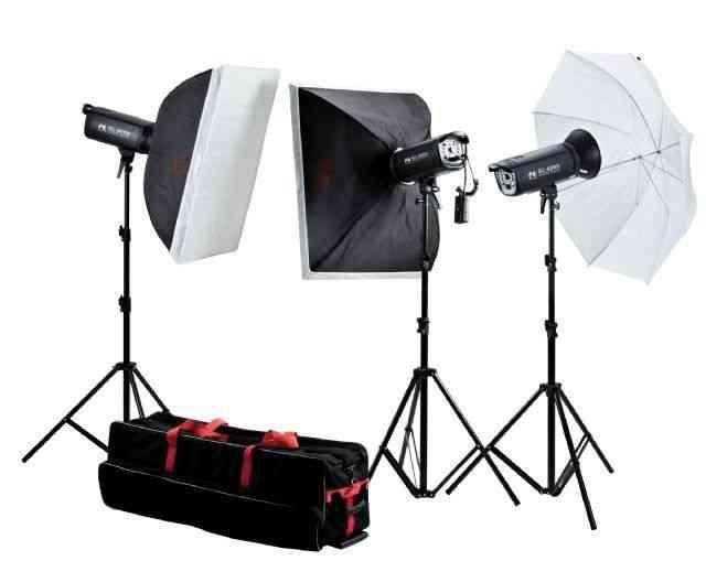 Vendo Kit Profesional de Estudio fotografico 160 w de segunda mano