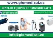 Renta de equipos médicos de oxígeno - terapia en quito.