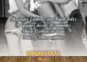 Damas bisexuales en manta con lugar privado