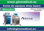 Venta de equipos médicos alma lasers.