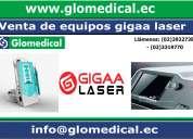 Venta de equipos médicos gigga laser.