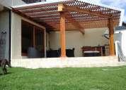 Pergolas en madera - diseñamos y construimos garantizado