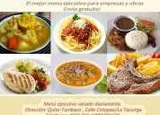 Venga ya! los mejores almuerzos ejecutivos de tumbaco(quito)