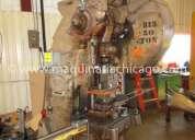 Troqueladora bliss 50 ton usada