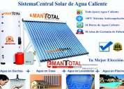 Calentadores solares 250ltrs. $ 670 instalados