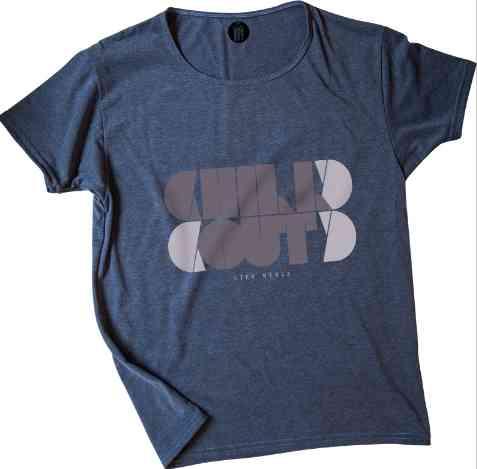 Camiseta De Hombre Funky Monkey - Estampe Simetría - Redondo