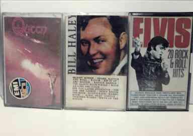 cassettes originales en venta