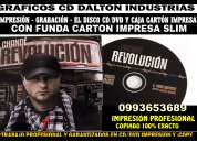 cd y dvd copy e impresion perfecta