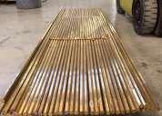 Venta de barras bronce dulce hexagonal 7/8 latÓn
