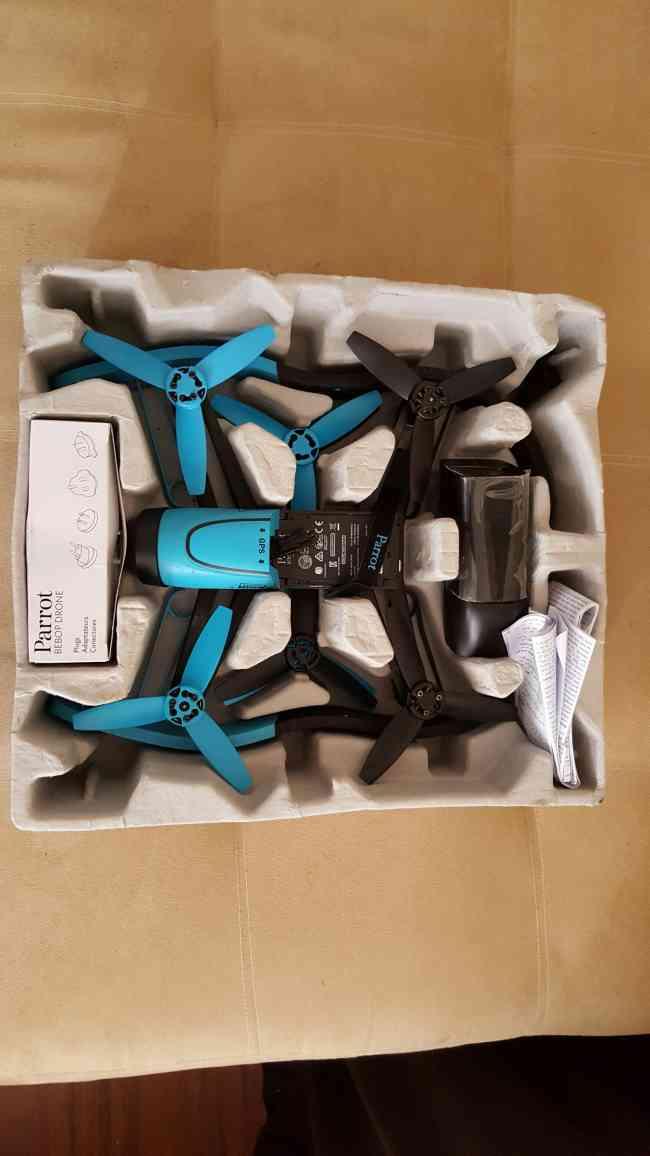 Parrot Bebop Drone 1080p usado excelente estado