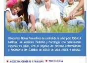 Planes de control de salud preventivo y seguimiento enfermedades crÓnicas y adulto mayor