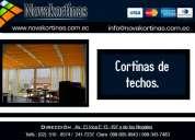 """Venta de cortinas de techos en quito - ecuador """"novakortinas"""""""