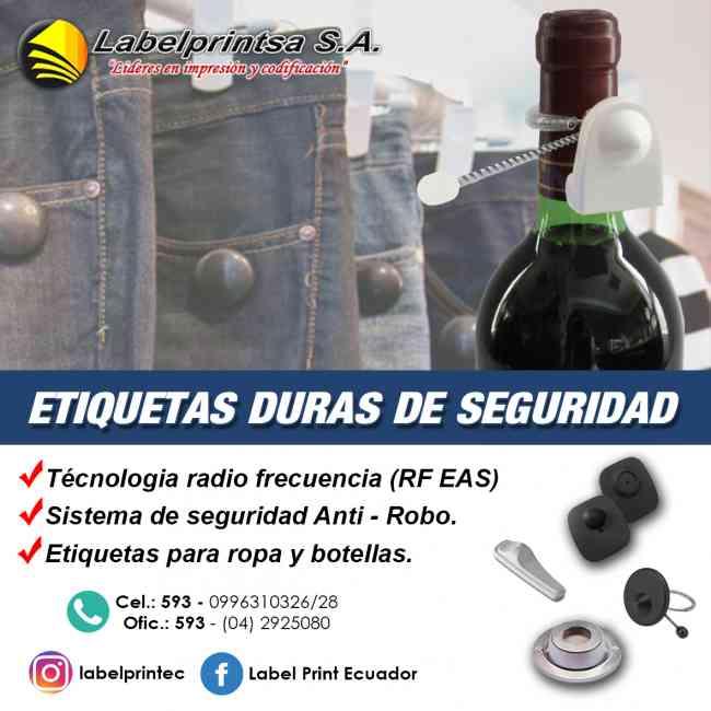 ETIQUETAS DURAS DE SEGURIDAD RFID