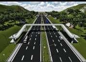 Diseño render 3d de carreteras para ,estado ,obras públicas y particulares