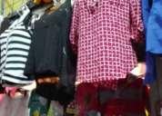 Se vende negocio de ropa zapatos y varios articulos de bazar