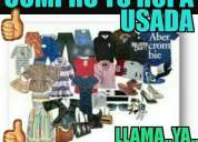 Compro ropa usada en buen estado