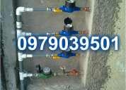Servicio de plomeria plomero en cobre 24hra todo el norte de quito---097.903.9501
