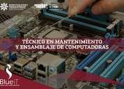 Tecnico en mantenimiento y ensamblaje de computadoras